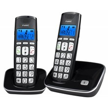 Fysic FX-7020 Big Button Dect Telefon Twinset
