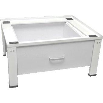 Nedco Wasmachineverhoger mit Schublade und höhenverstellbare Füße / Nedco 0052