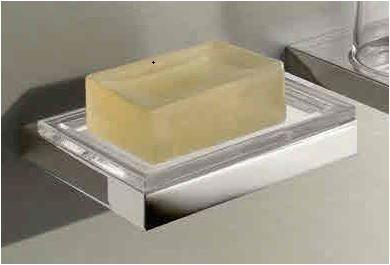 soapdish keuco edition 11 chrome vitasel shop. Black Bedroom Furniture Sets. Home Design Ideas