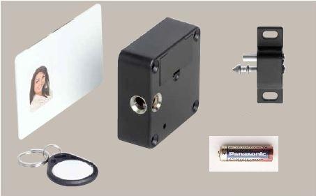 Chip Lock Cabinet Lock Set With Steel Locking Portion Of Intersteel