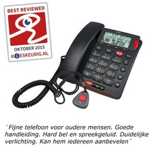 Fysic FX-3850 SOS Big Button Telefon mit Hör- und Sehbehinderungen Unterstützung