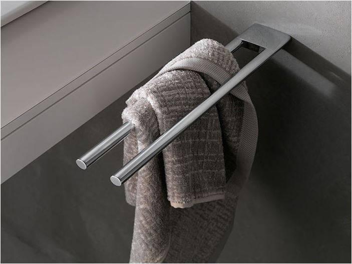 keuco serie edition 400 handdoekhouder 2 lids 450mm. Black Bedroom Furniture Sets. Home Design Ideas
