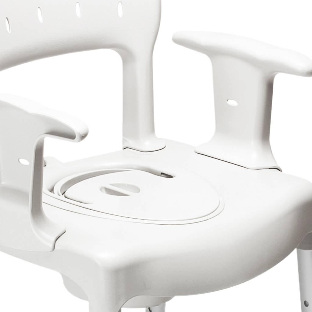 Etac - Swift Commode Toilet chair + toilet bucket - Vitasel-shop