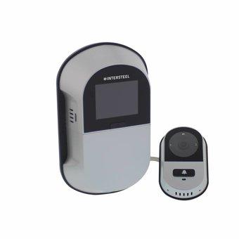 Intersteel Digital Door with spy camera and wifi the WDDV 4.0 of Intersteel  sc 1 st  Vitasel-shop & Digital Door camera with WiFi 4.0 / Digital Door Spy with WiFi 4.0 ...