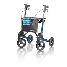 Topro TOPRO Troja 2G Standard-Rollator M Blaue Wellen mit Rückenlehne!