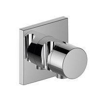 Keuco IXMO 2-Wege-Patronen-off und Einstellventil mit Schlauchanschluss und Handbrausehalter DN 15 (Quadrat)