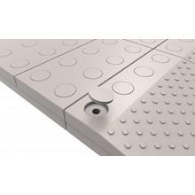 SecuCare Vuldoppen set kleur grijs voor modulaire drempelhulp SecuCare