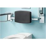 Rugsteun voor toilet Plan Care van Keuco
