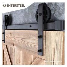 Intersteel Schuifdeursysteem Wheel Mat Zwart van Intersteel