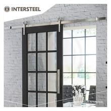 Intersteel Schiebetürsystem Moderner Edelstahl
