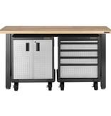 Gladiator® Premier 2-Deurs Gelaste Stalen Werkbankkast