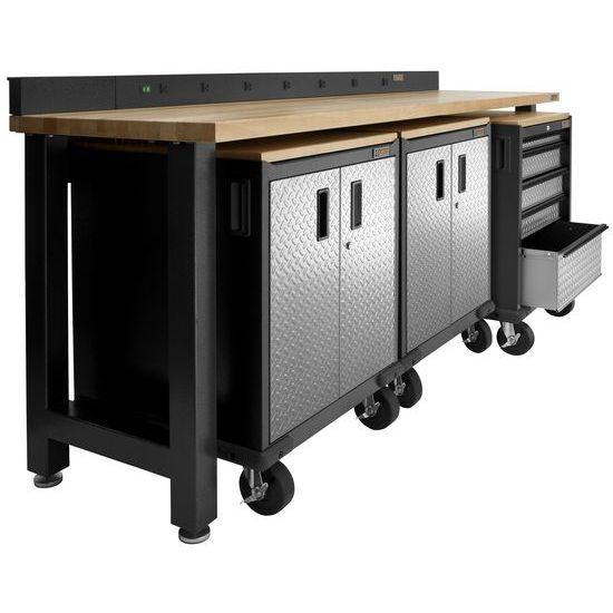 Gladiator® 2-Deurs Werkbank Onderkast Premier Series (88x71x64cm)