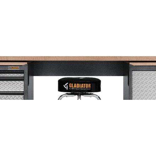 Gladiator® Garage Kruk met draaibare zitting (76cm hoog)