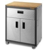 Gladiator® Stalen Werkbankkast met 1 Lade en 2 Deuren