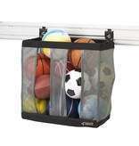 Gladiator® Ball Caddy waar minstens 9 grote ballen in passen