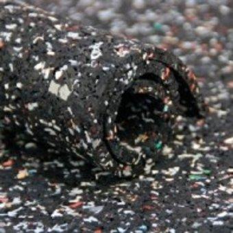 Ondervloer Rubber 3mm (prijs per strekkende meter, 150 cm breed ) - Granulaat op rol