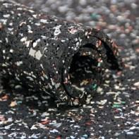 Ondervloer Rubber 3mm  - Granulaat op rol