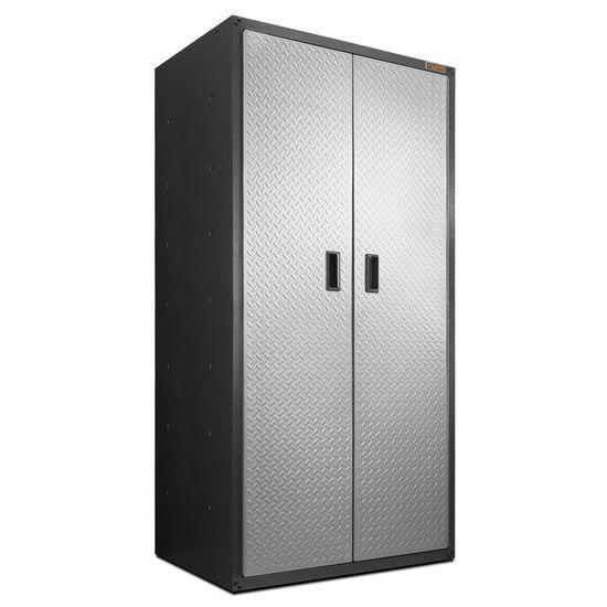 Gladiator® Jumbo Garagekast Met Kledingstang (183x91x61)