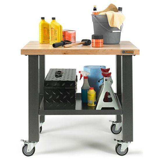 Gladiator® Mobiel Werkstation op zwenkwielen