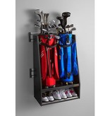 Gladiator® Golftassenhouder voor twee grote golftassen