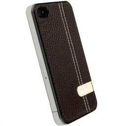 Krussel Hard Case Gaia UnderCover Bruin voor Apple iPhone 4