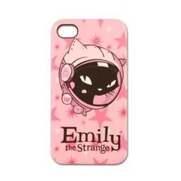 Emily the Strange Iphone 4(S) hoesje Hard case Emily the Strange Astro Kitty