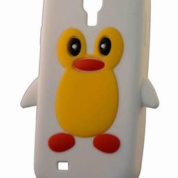 Samsung S4  Pinguin wit