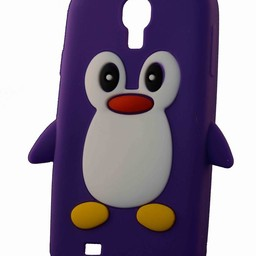 Samsung S4  Pinguin paars
