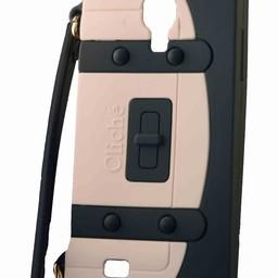 Samsung S4 Handtasje Zwart