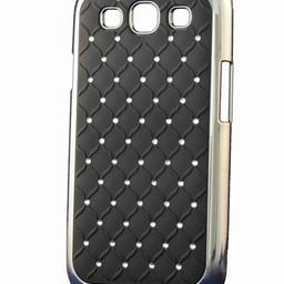 Samsung S3 Daimond Stars Strass Zwart