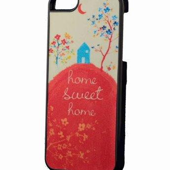 Iphone 5 hoesje Hard home Sweet Home