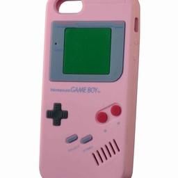 Iphone 5(s), 5(c) hoesje retro Nintendo game boy Rose