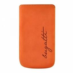 Bugatti iPhone 4/ 4S Bugatti Pu Leer  Perfect Velvety Mandarijn