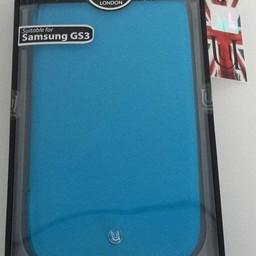 Uunique Uunique Folio Flourescent Blue voor Samsung i9300 Galaxy SIII