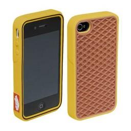 Vans Iphone 4 (SVans Sneaker hoesje ) Bruin-Geel