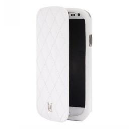 Uunique Uunique Folio hoesje Quilting Wit voor Samsung i9300 Galaxy SIII