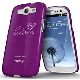 Whatever it takes Donna Karan Love for ever Paars  Samsung i9300 Galaxy SIII