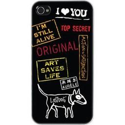 LostDog iPhone 4/4SLostDog  Top Secret Zwart