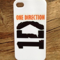 Iphone 4(S) hoesje hard Case One Direction 4