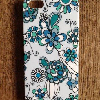 Iphone 5 hoesje Hard case Flowers 2
