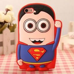 Iphone 4 (S) hoesje Minion Superheld Superman