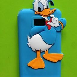 Samsung S2 siliconen hoesje Donald Duck