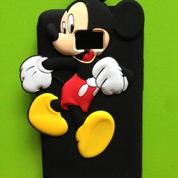 Samsung S2 siliconen hoesje Mickey Mouse