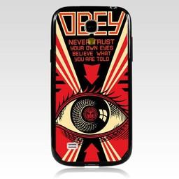 Samsung S4 Mini siliconen Hard case hoesje Obey