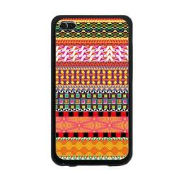 Ipod Touch 4 (G) hard siliconen bescherm hoesje Aztec 1