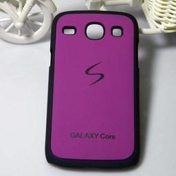 Samsung Galaxy I8260/62 hard siliconen hoesje Paars