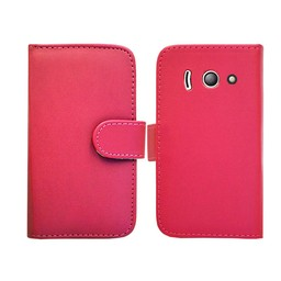 Huawei Ascend Y300 Wallet rose