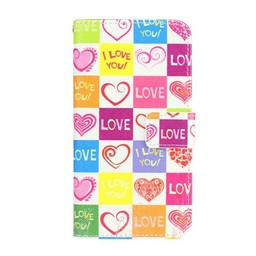 LG Optimus G3 Wallet hoesje I love You