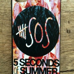 Iphone 4(S) hoesje hard Case 5 Seconds of Summer 2