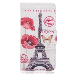 Samsung S5 Wallet Eiffeltoren  I Love You